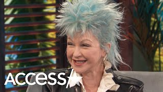 Cyndi Lauper Admits She Slides Into Fellow Celebrities' DMs For This Reason