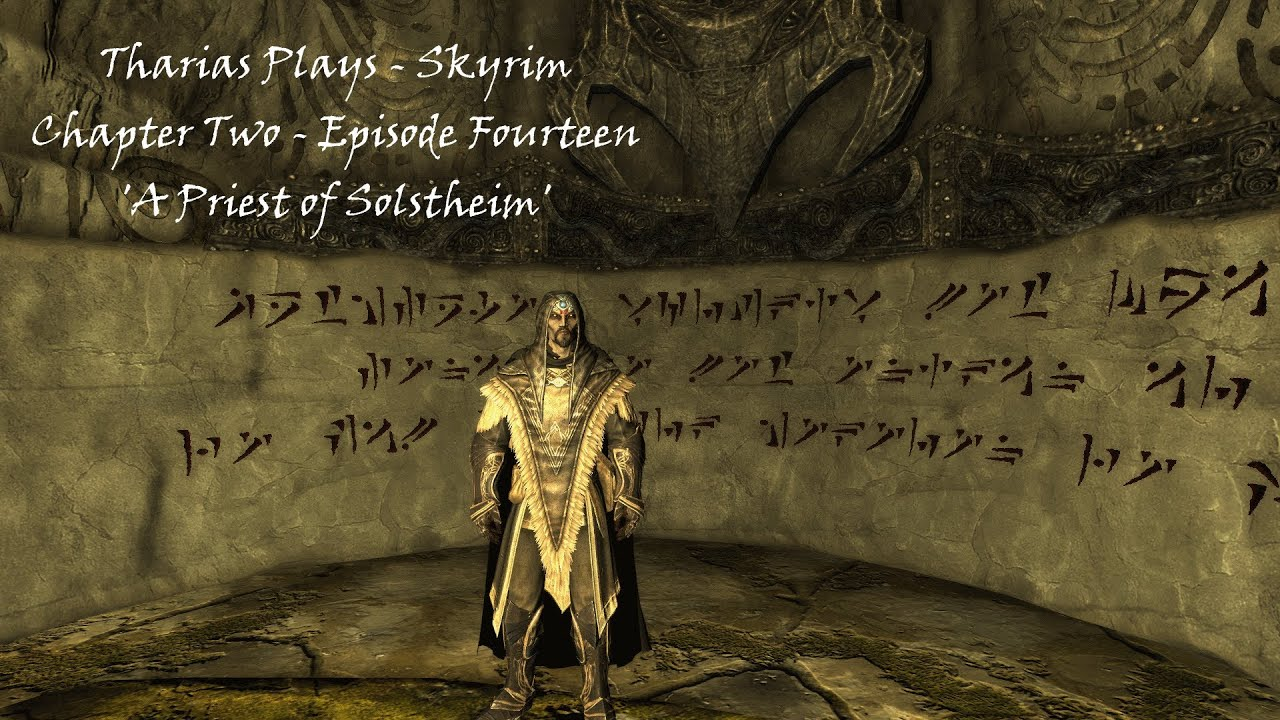 Skyrim - Chapter Two - Episode Fourteen - \'A Priest of Solstheim ...
