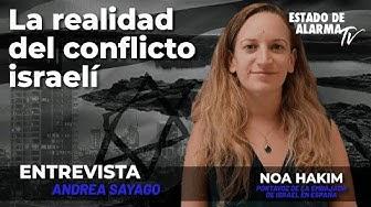 Image del Video: Entrevista a Noa Hakim: La realidad del conflicto israelí; con Andrea Sayago