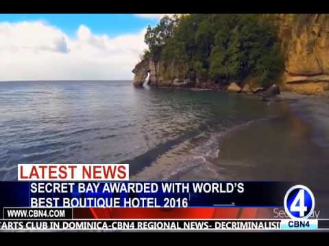 SECRET BAY AWARDED WITH WORLD'S BEST BOUTIQUE HOTEL 2016 BY WORLD BOUTIQUE HOTEL AWARDS