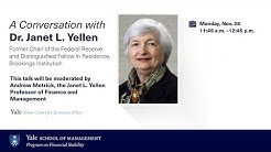 A Conversation with Janet Yellen, Former Chair of the Federal Reserve