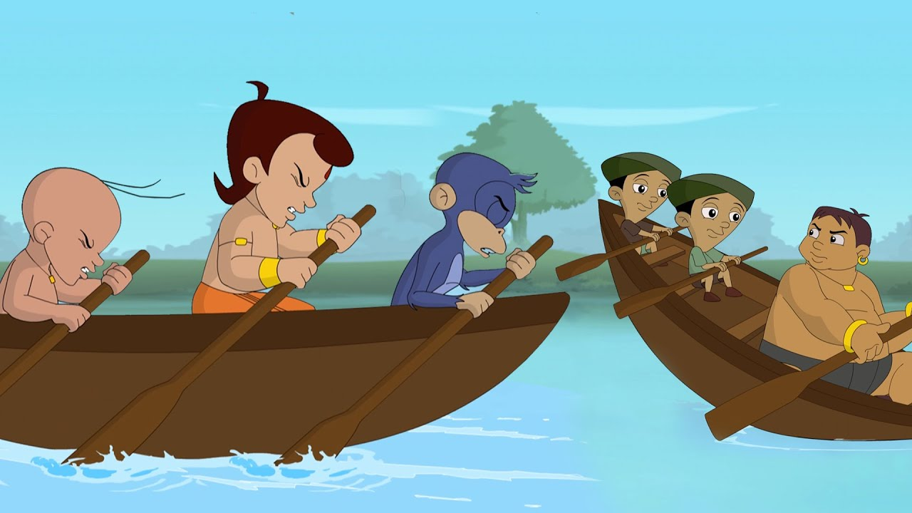 Download Chhota Bheem - Dholakpur Boat Race Competition | Fun Kids Videos | Cartoon for Kids in Hindi