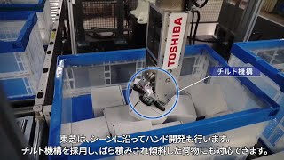 【東芝】ピースピッキングロボット