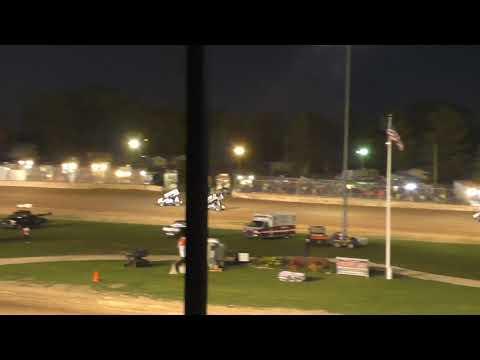 Plymouth Dirt Track IRA 410 Sprints Heat Races 9-28-2019