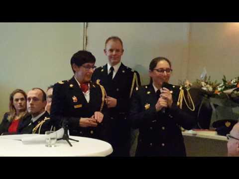 Korpsavond brandweer assen met koninklijke onderscheiding