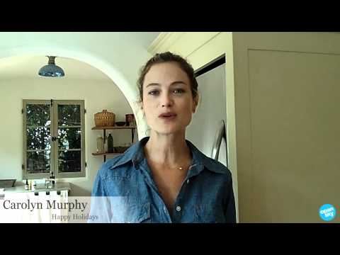 Carolyn Murphy- OpenSky Holiday 2011