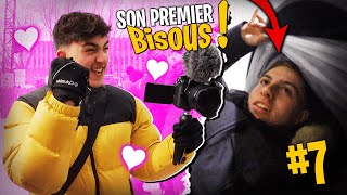 Le premier bisous d'Inoxtag au Canada #7