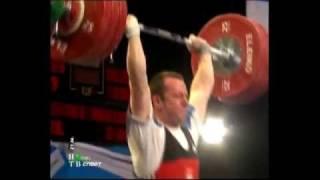 2007 European Championships Men 85 Kg