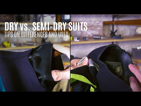 Dry vs. Semi-Dry Suits - Tips on Differences and Uses - Kayak Hipster