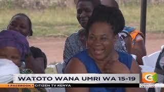 Mimba za mapema kwa wasichana wa shule