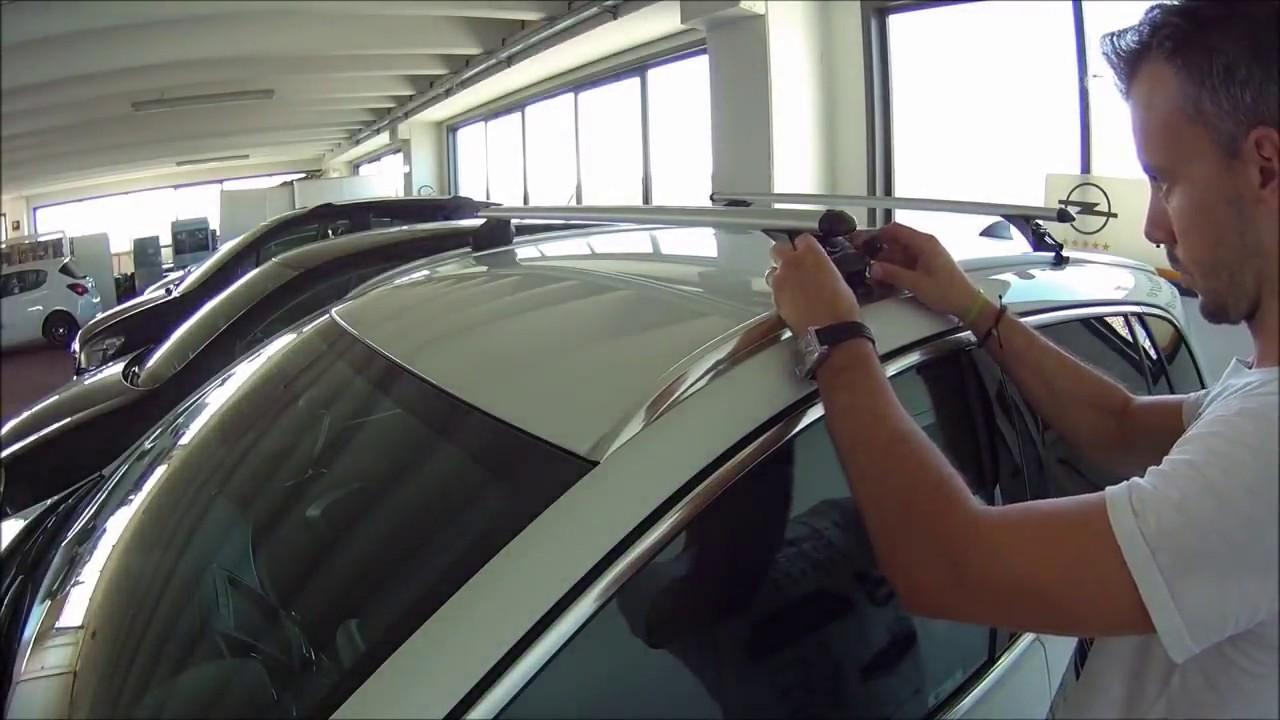 How To Fit Roof Rack Bars Vauxhall Insignia Estate