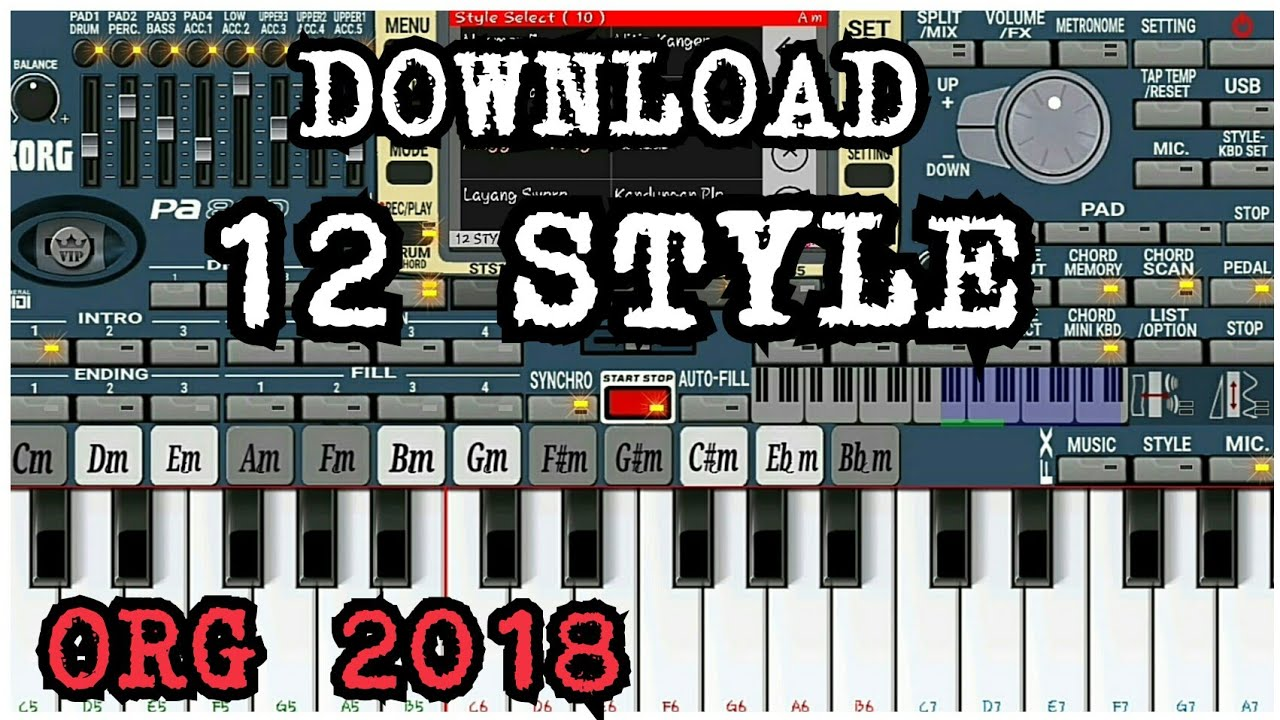 Download 12 style org 2018