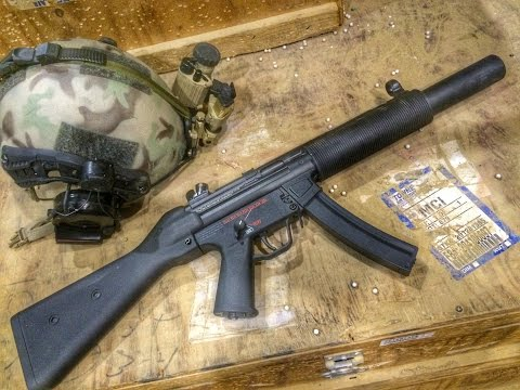 H&K Mp5 SD5 Airsoft Review