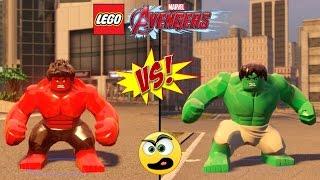 LEGO Avengers (Vingadores) Hulk VS Hulk Vermelho (Batalha de Heróis ) #3
