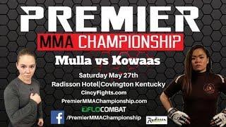 Premier MMA Championship 3 Khadija Mulla vs Yoko Kowaas