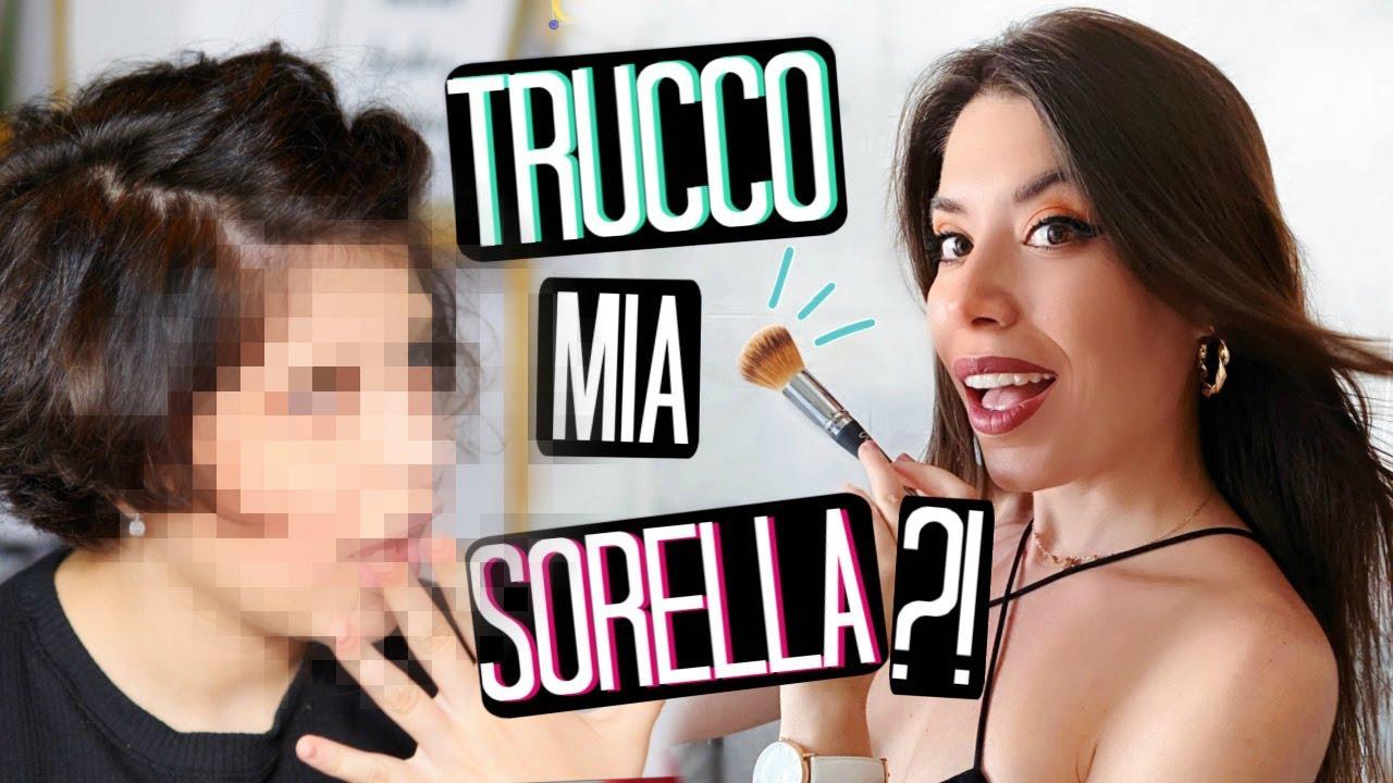 TRUCCO MIA SORELLA DI 13 ANNI PER LA PRIMA VOLTA SU YOUTUBE!!!   Adriana Spink