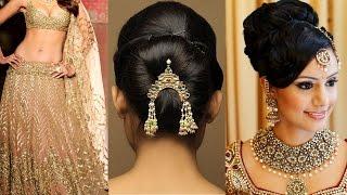 Lehenga Style Saree Draping with Makeup and Hairstyle Step By Step | Lehenga Bridal Makeup