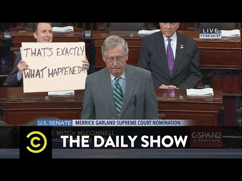 Republicans SCOTUS-Block President Obama: The Daily Show