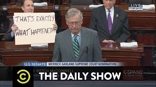 Republicans Scotus Block President Obama The Daily Show