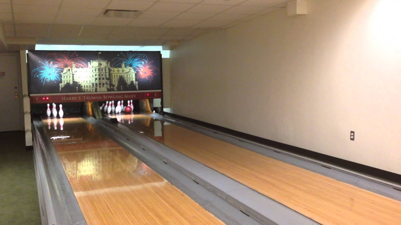 Strike at the White House Bowling Alley