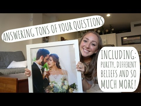 MARRIAGE ADVICE Q&A // collab with Laura from What Laura Likes