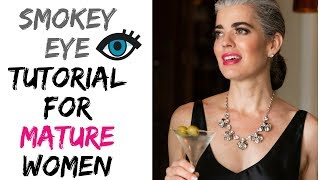 Mature Women | Smokey Eye Tutorial | Nikol Johnson