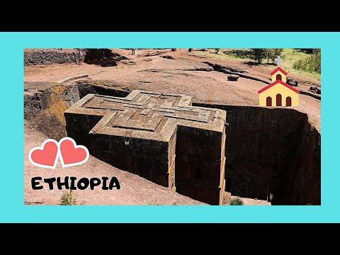 ETHIOPIA, inside LALIBELA