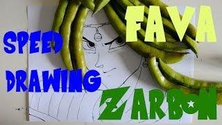 Speed Drawing Zarbon con la FAVA