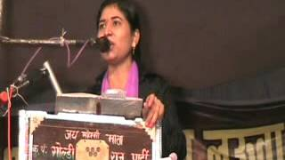 Kirtan goldi sharma jagran in lucknow best kirtan first time jawabi santosh rahi kanpur up mp hd vid