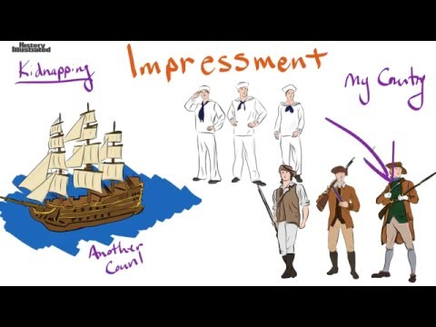 Impressment Definition for Kids