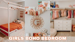 Kids Open Closet Makeover   Organize & Declutter With Me