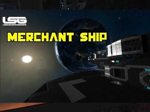 Space Engineers - Odysseus Merchant Ship