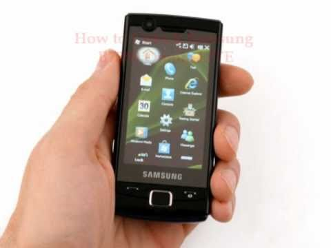 Samsung B7300 Omnia LITE Unlock Code - Free Instructions