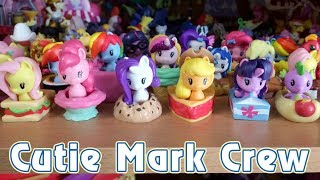 Милашки Пони - ВСЯ ВОЛНА - обзор фигурок My Little Pony - Cutie Mark Crew