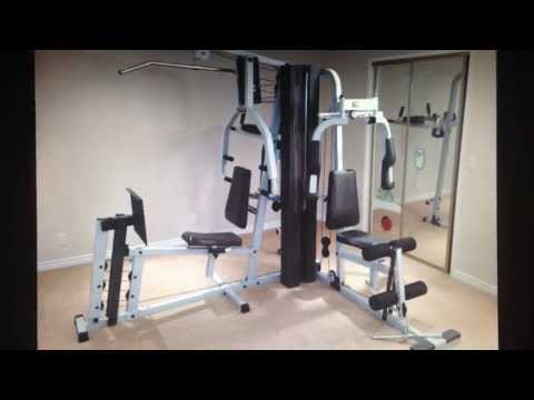 Eurosport Universal Gym Cable Setup Manual