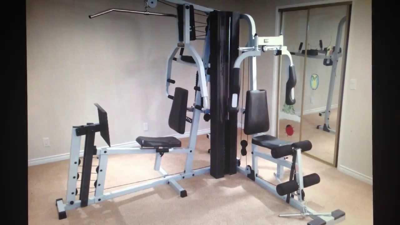 Eurosport Universal Gym Cable Setup Manual Youtube