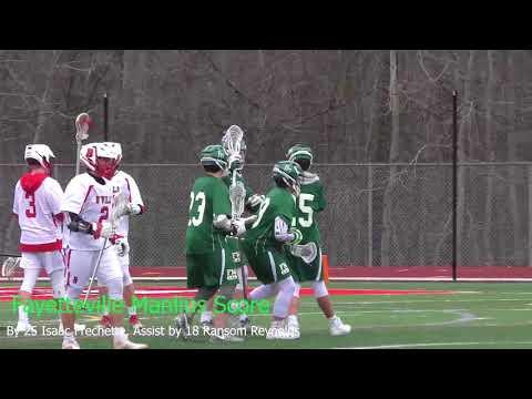 Game Highlights Spring Boys Junior Varsity Lacrosse Baldwinsville VS Fayetteville Manlius 4/11/2018