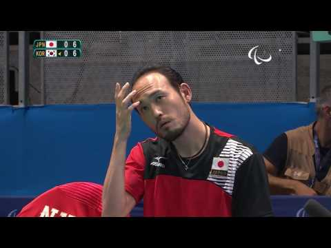 Table Tennis | Men's Singles - Class 11 Group A | Rio 2016 Paralympic Games