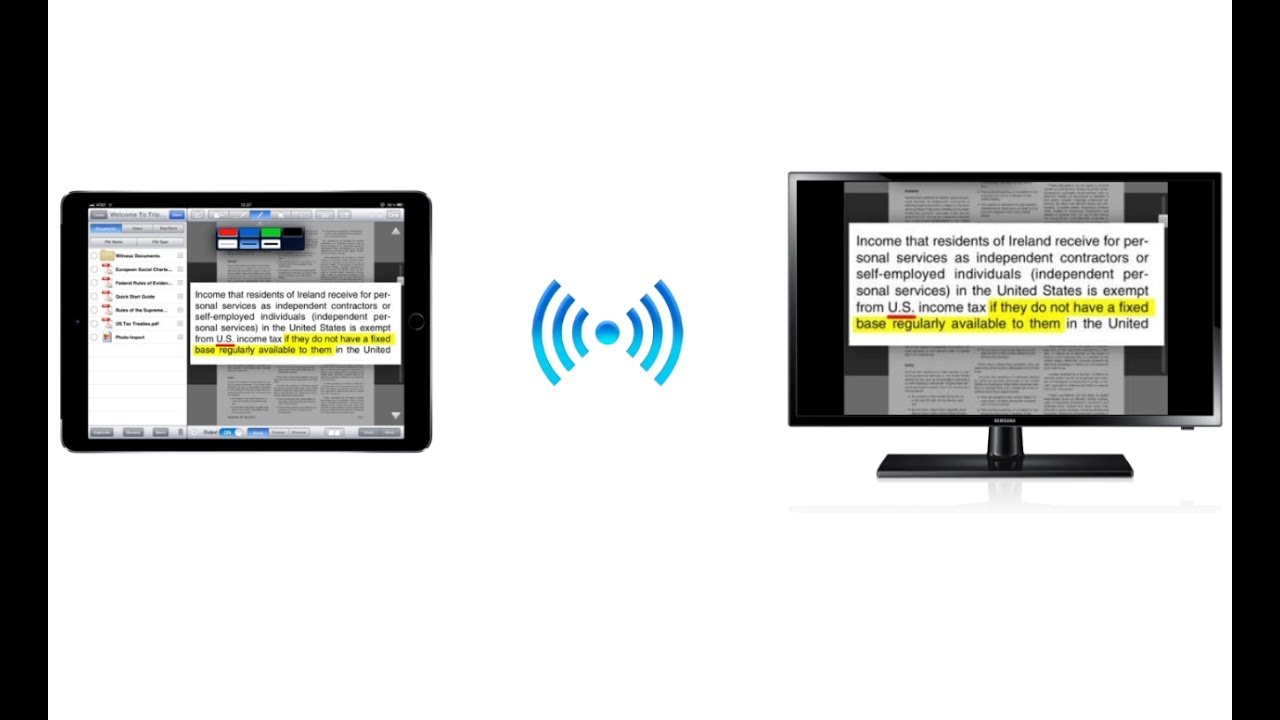 Apple TV Hardware Setup for Wireless Presentation - YouTube