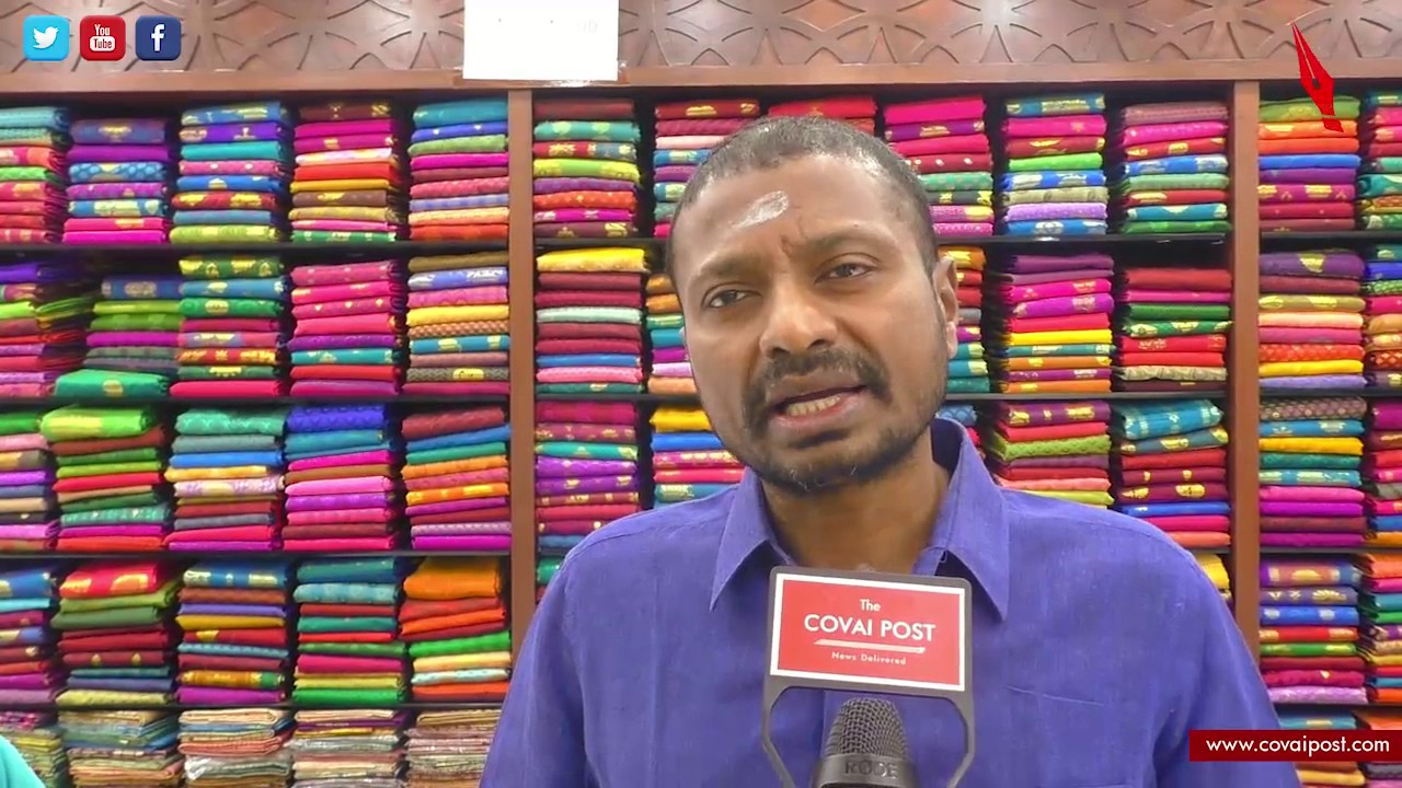 P Sivaganesh , Managing Director of Shree Devi Textile speaks to Covai Post