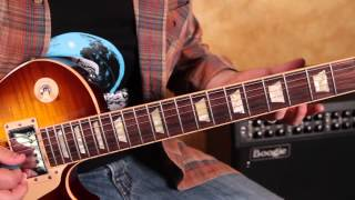 Santana -  Europa  - Guitar Lesson pt 2 - Taught by Marty Schwartz