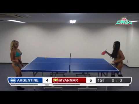エンドルフィン エロ卓球W杯アルゼンチンvsミャンマー