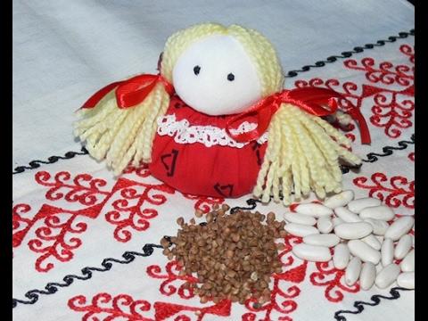 Зерновушка (Крупеничка) - кукла - домашний оберег своими руками от nashydetky.com