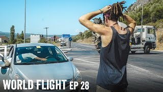 I HAD A CAR ACCIDENT! - World Flight Episode 28