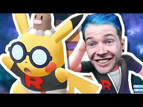 TÔI ĐÃ THAM GIA ROCKET ĐỘI !!   Pokemon Let & 39; s Go Pikachu 4