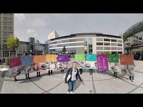 Die Virtuelle Campus-Tour: Die Universität Jena im 360 Grad Video