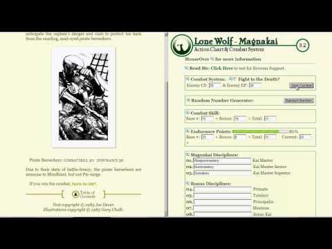 Let's Read Lone Wolf: Kingdom of Terror 04 - Har Har Fiddledee Dee