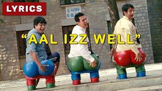 ALL IS WELL ( Lyrics ) 3 Idiots