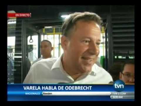 Tvn Presidente Juan Carlos Varela habla sobre caso Odebretch