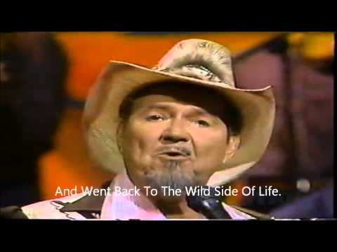 Sing Along With Hank Thompson Wild Side Of Life (With Lyrics)